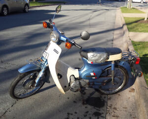 1983 Honda C70 Scooter - ready to ride!