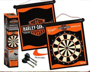Harley Davidson Magnetic Dartboard