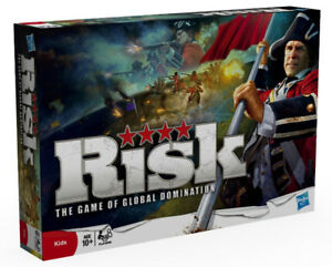 Risk board game (factory sealed, brand new in box)
