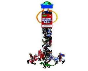 Knights And Dragons (12 Minifigures) Series Tubos Tubes Safari Ltd 699904