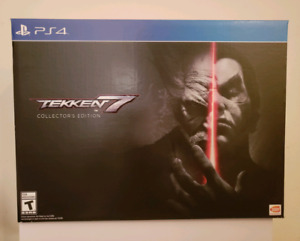 Tekken 7 Collector's Edition for PS4 - $120 (Brand New)