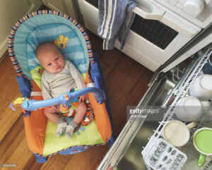 Baby vibrating chair/ chaise vibrante bebe