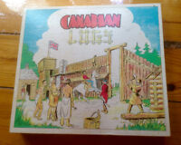 Canadian Logs Antique Children's Toy-( Lincoln Logs )