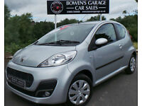 2013 (63) PEUGEOT 107 1.0 ACTIVE 3DR - 1 OWNER - FULL S/HISTORY - FREE TAX