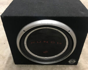 "Rockford Fosgate P112S4 Punch Stage 1 12"" 4-ohm subwoofer"