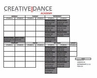 Dance classes in Stittsville / Carp ages 2 to adult