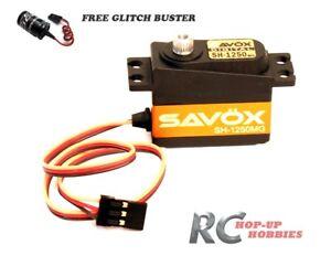 Savox Sh-1250mg Digital High Torque Mini Servo and Futaba