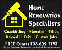 HRS Home Renovation Specialists.