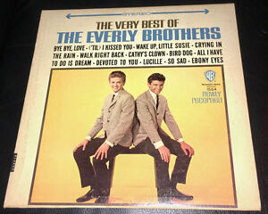 Old Records – the Everly Brothers and Kenny Rogers Kitchener / Waterloo Kitchener Area image 1