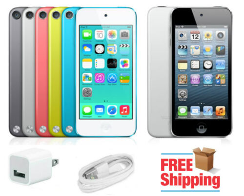 Ipod Touch - Apple iPod touch 5th Generation Wi-Fi 16GB, 32GB, 64GB, ALL COLORS