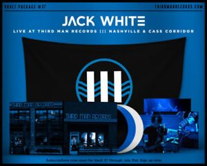 JACK WHITE Live At Third Man Records Vault Package #37 SEALED