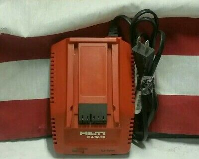 Hilti 18-36 Volt Lithium-Ion 4//36-90 Compact Fast Charger Battery Charge Ion AC