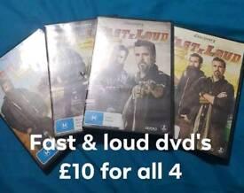 Fast n loud dvds