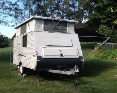 Coromal Excel 401 Pop Top Caravan Pomona Noosa Area Preview