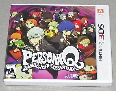 Persona Q: Shadow of the Labyrinth for Nintendo 3DS Brand New! Factory Sealed!