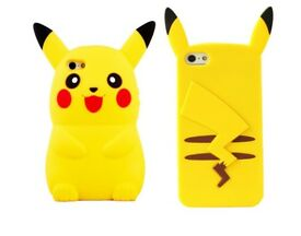 Pokemon pikachu silicone case cover iPhone 5 6 6s