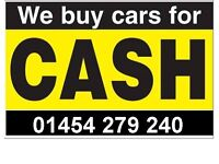 CARS, VANS AND MOTORCYCLES WANTED. ALL OVER BRISTOL AND SURROUNDING AREAS. INSTANT PAYMENT TODAY