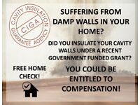 ⚠️🏠 FREE DAMP WALL/ PROPERTY SURVEY🏠⚠️