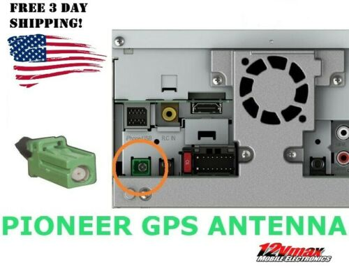 New GPS Navigation Antenna for Pioneer Radios Green Plug AVIC NEX AVH Models