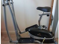 2 in 1 Exercise bike and Elliptical Trainer