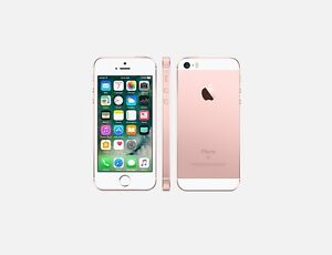 Like New Mint Condition Rose Gold 32GB IPhone SE!