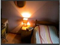 Bright Funky Single Room for rent in a Roomy Flat off Leith Walk 440/month all inclusive
