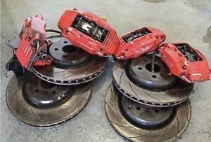 HOLDEN COMMODORE VE HSV BRAKES FRONT AND REARS PLUS PADS Varsity Lakes Gold Coast South Preview