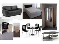 HMO furniture package. 3 bedrooms + living room. Excellent condition