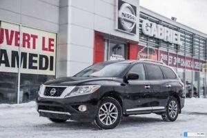 2015 Nissan Pathfinder SL 4WD GPS + toit