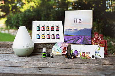 Young Living Premium Starter Kit 10 Essential Oils  Choose Diffuser  Free Extra