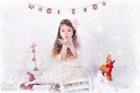 Professional Christmas Photosession for resonable price. Gift vouchers available.