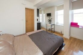 GREENLAND STREET, NW1: BRIGHT & MODERN STUDIO FLAT, CENTRAL CAMDEN, FURNISHED, WOODEN FLOORS