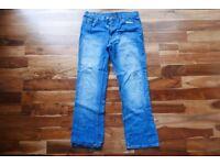"34"" Regular George Jeans - Denim Blue"