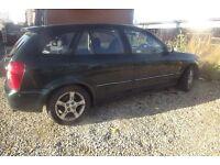 Mazda 323f hatchback/estate 2003 92,000 mot til March cheap runaround!