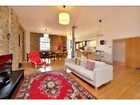 QUEBEC WHARF, KINGSLAND RD E8: 2 BED WAREHOUSE CONVERSION, UNFURNISHED, SHOREDITCH IS A 10 WALK AWAY
