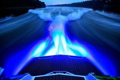 Boat Drain Plug Light Bty 1200 Lumens Under Water Fishing 1 2  Npt Led Light
