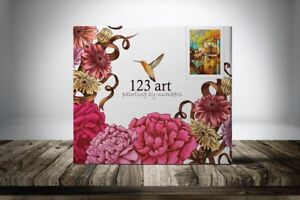 Paint By Numbers Kits (www.123art.ca)
