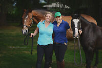 Beginner Ladies Learn to Ride at Balance Equestrian Centre!