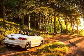 Audi TTS - 2009 (White) - Converible