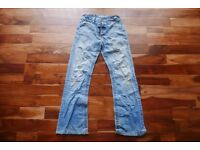 """30"""" Regular Sonneti Washed Out Bootcut Jeans"""