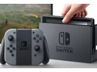 Nintendo switch + Zelda breath of the wild + case