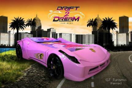 LAST ONE X-DISPLAY FERRARI GT TURISMO KIDS CAR BED-DRIFT 2 DREAM Kingswood 2747 Penrith Area Preview