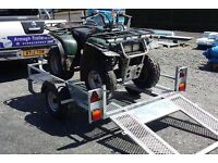 GALVANISED QUAD MOVING TRAILER ALSO SUIT GOLD BUGGY AND RIDE ON LAWNMOWERS