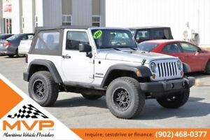 2011 Jeep Wrangler Only 69,000kms!!