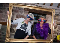 Wedding photo booth props and frames 75+ props