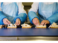 Sandwich factory workers urgently required 9gbp p/h