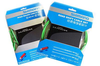 SHIMANO - Kit Completo Carreras Vainas + Cables Cambio Y Freno Ultegra...