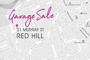 The Great Last Garage Sale — Red HIll — Sat 27 May Red Hill Brisbane North West Preview