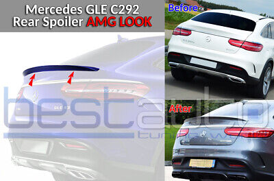 Mercedes C292 GLE COUPE BOOT Heckspoilerlippe AMG Design ABS OEM FIT