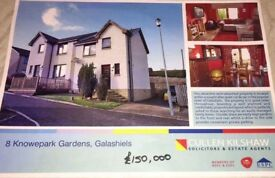 Semi detached 3 bedroom house FOR SALE